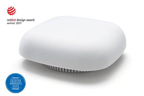 Design Smoke Detector in white at Westfalia Mail Order - UK