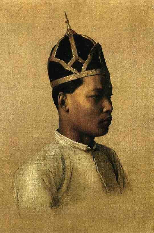 Jean-Leon Gerome (1824-1904) Nai Sombun, 1861. Coleção particular.
