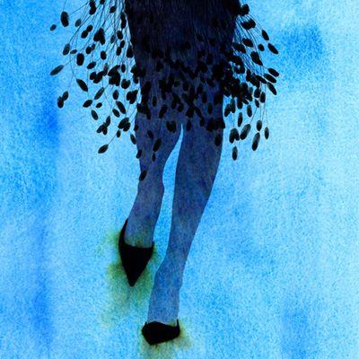 Fashion Watercolor Illustration by Kareem Iliya