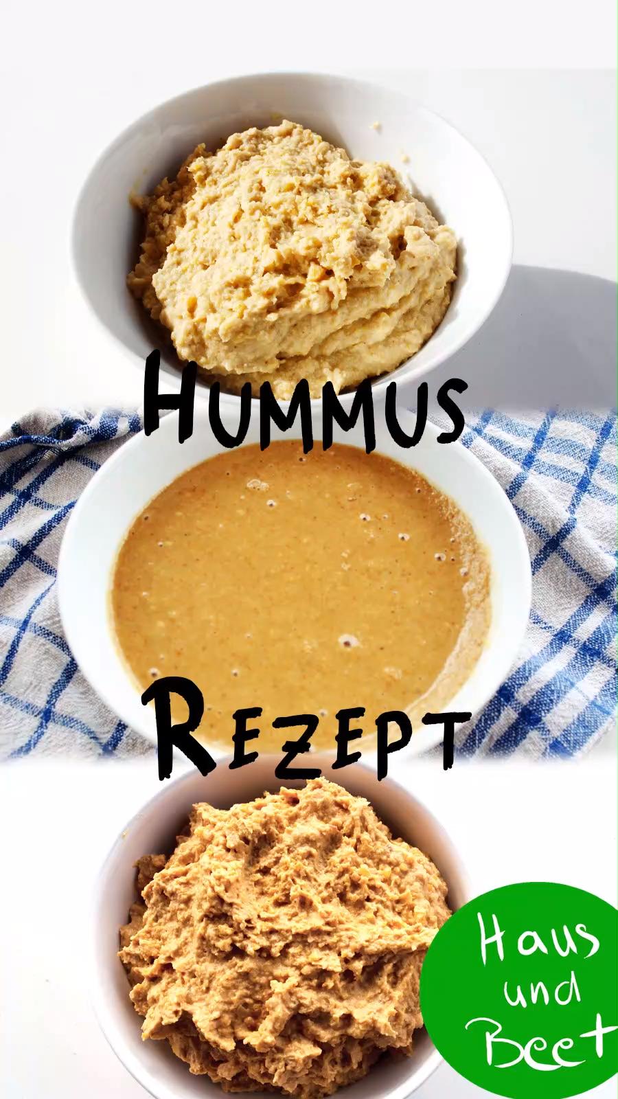 Hummus Rezept – Einfach, vegan, sehr lecker!