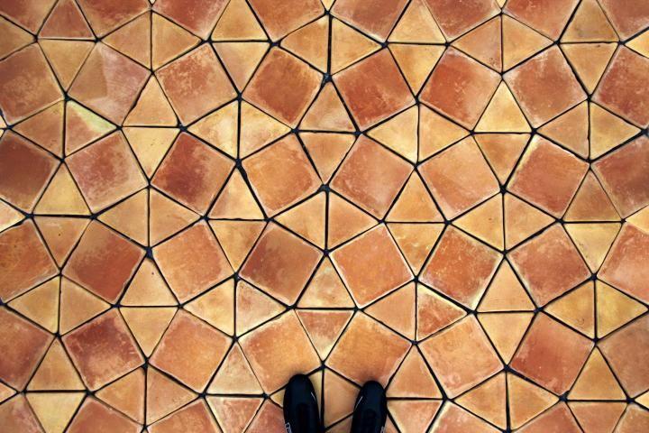 Teselado prometheus terracotta floor tiles todobarro - Baldosas de terracota ...