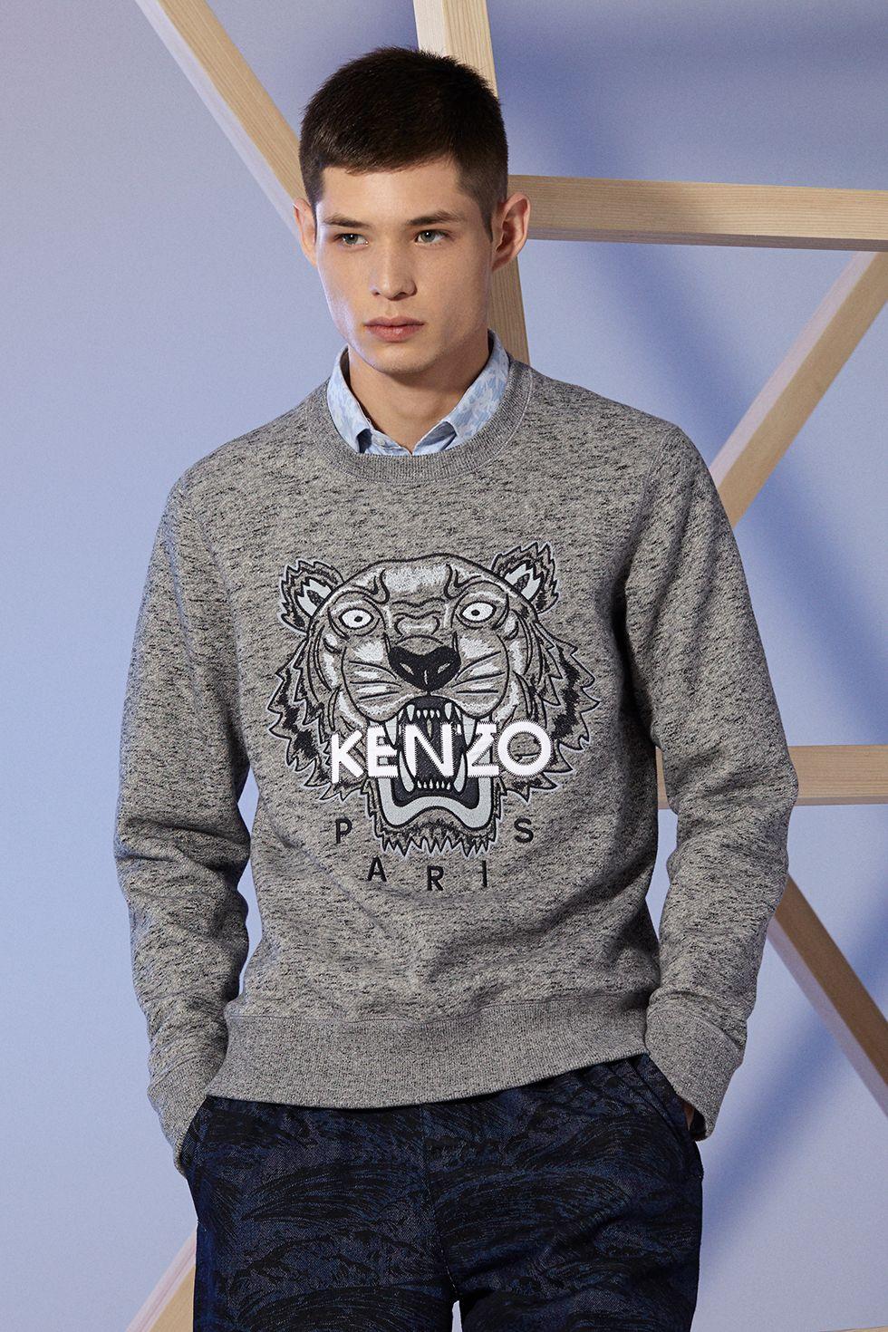 b2209286c7a Sweat-shirt Tiger Kenzo - PRINTEMPS ÉTÉ 2014 Kenzo Homme - E-Shop Kenzo