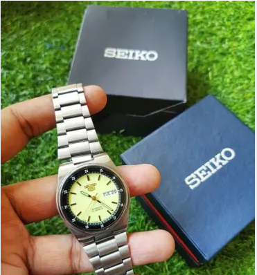 Original Seiko 5 Automatic Made In Japan Full Radium Dial Seriescomes From Dubai Genuine And Brand New Intact Box Health Fashion Health And Beauty Silver Watch