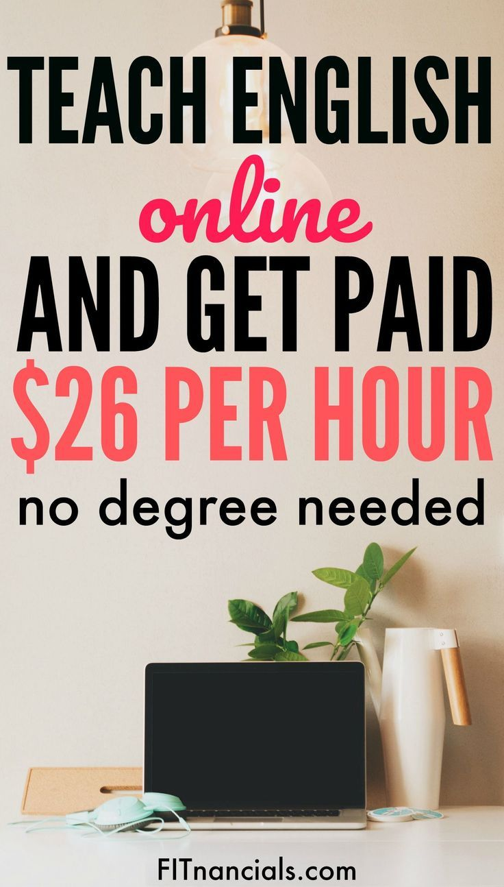 How To Teach English Online & Get Paid 22+ Per Hour