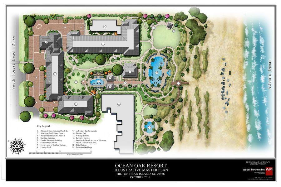 Ocean Oak Resort Master Plan Bahce Tasarimi Tasarim Bahce