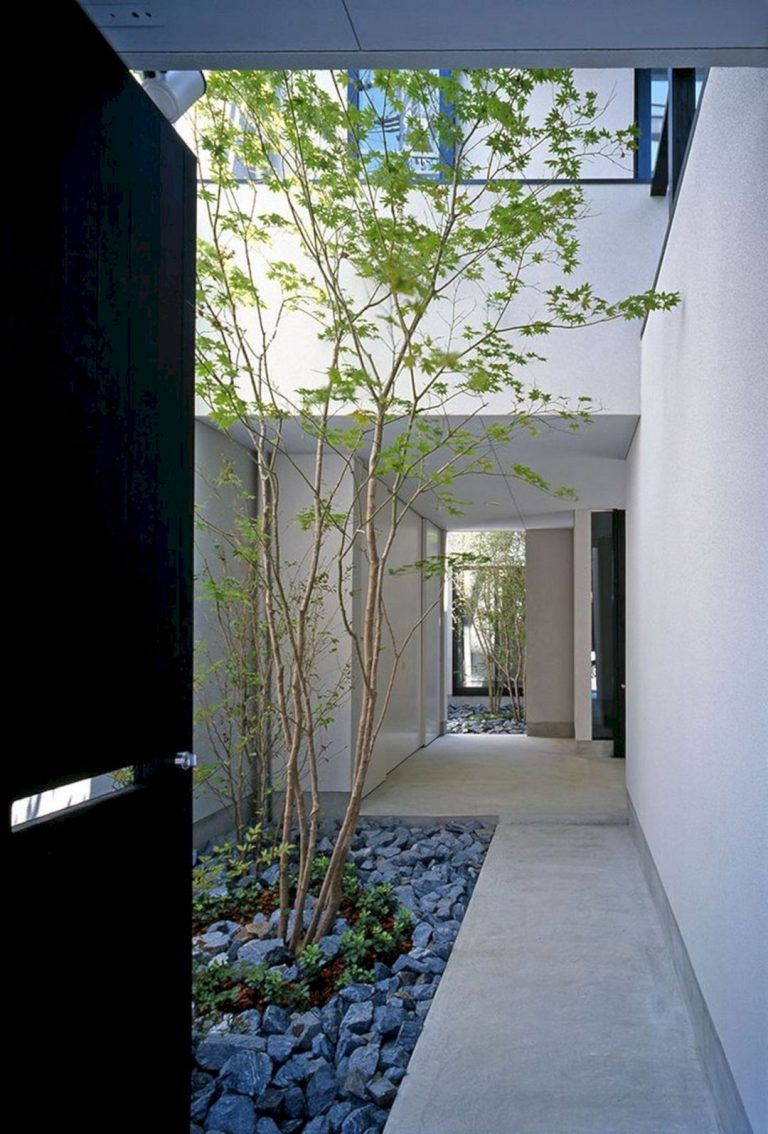 Modern Courtyard House Designs #zengardens