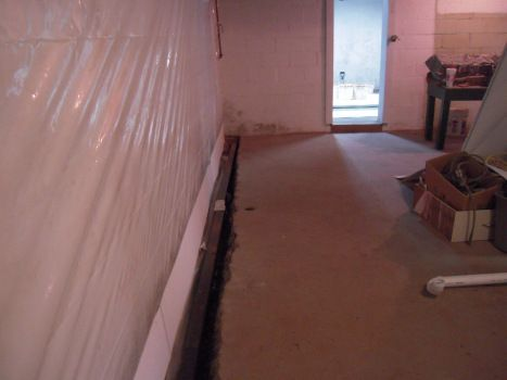 B Dry System For The Basement!