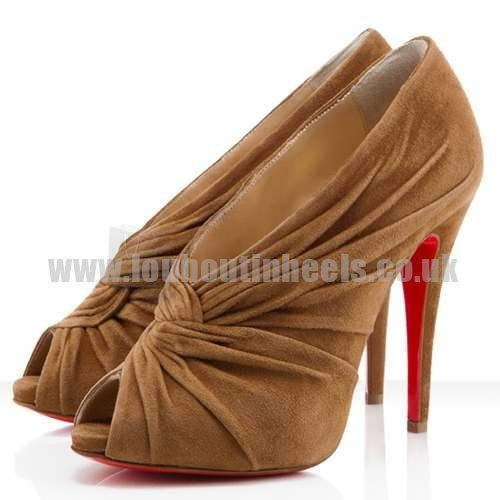christian louboutin manchon 120mm brown i need a new style rh pinterest com