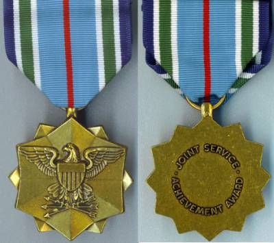 MILITARY MEDAL JOINT SERVICE ACHIEVEMENT MEDAL
