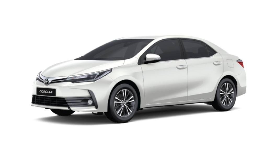 White Toyota Corolla >> Toyota Corolla Altis White Pearl Crystal Shine Colour