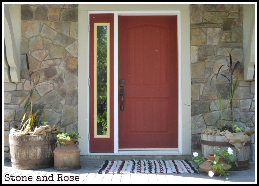 Annie Sloan Chalk Paint Primer Red | Re-do Front door | Pinterest