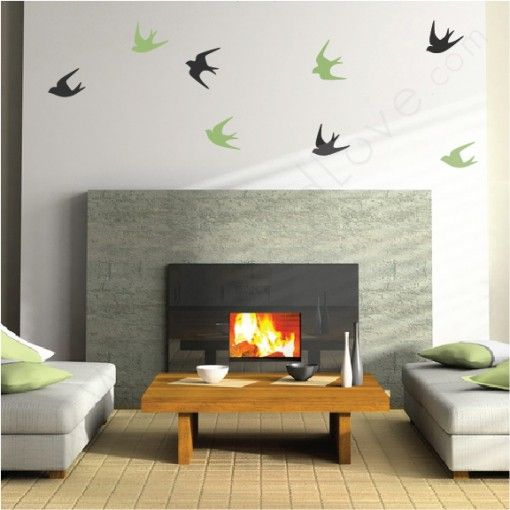 Sparrows wall decals sparrow bird wall decals and walls sparrows wall decals thecheapjerseys Gallery