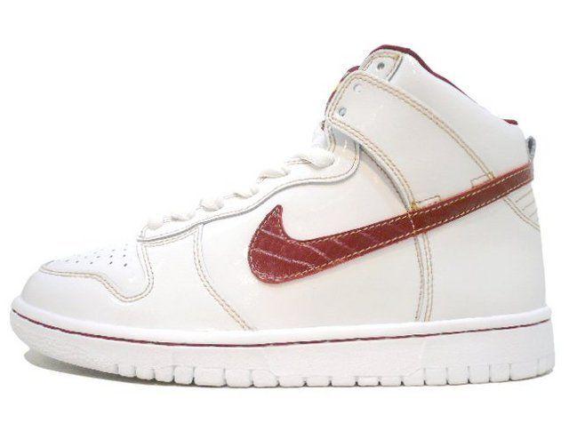 red | Nike dunk high, Nike sb dunks