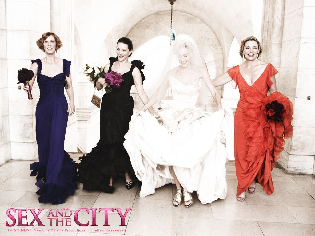 Multi styled bridesmaids city movie and tvs sex and the city wedding dress by vivenne westwood gold label lily dress was worn by sarah jessica parker in the movie ombrellifo Gallery