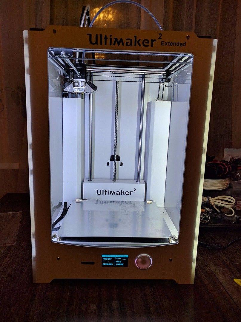 Blurolls Ultimaker 2 Extended 3d Printer Clone Diy Full Kit Set Door Open Alarmshock Sensor Alarmprotect Original Car Circuit Best Printers