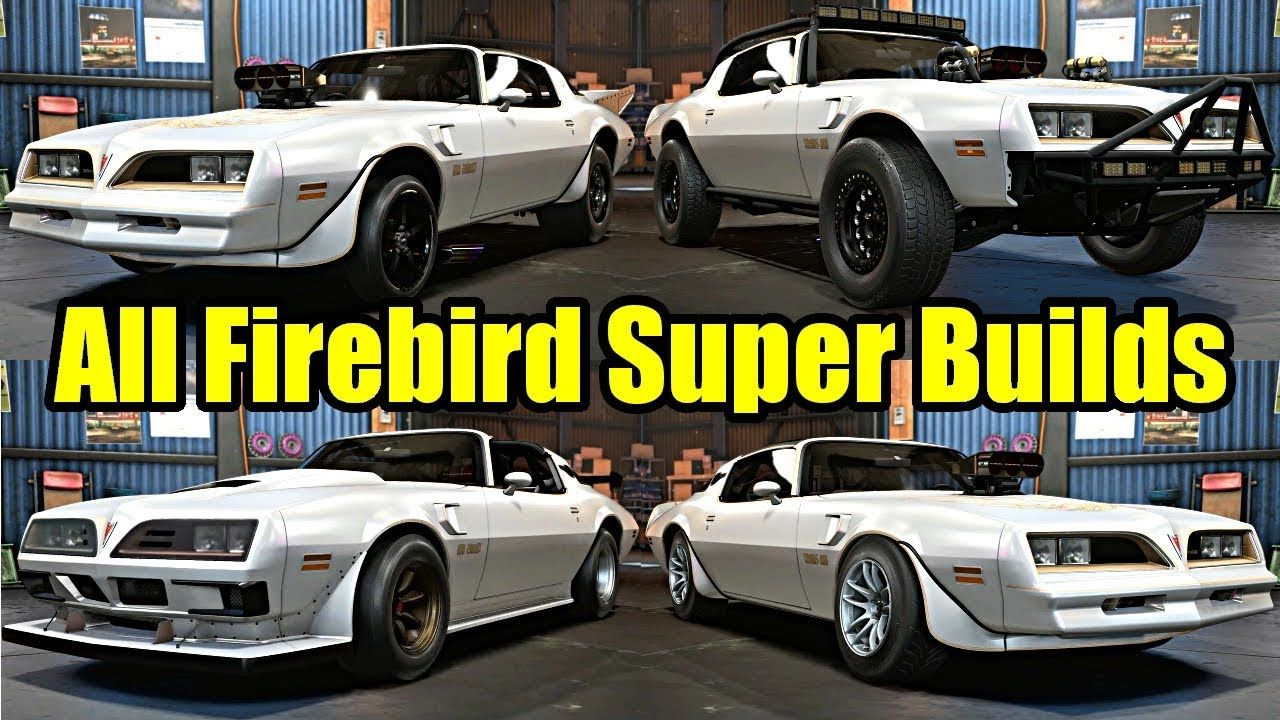 All Pontiac Firebird Trans Am Super Builds Need For Speed