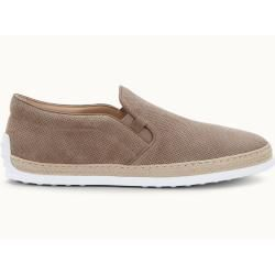 Tod's – brown suede slip-on, 5 – shoes tod's