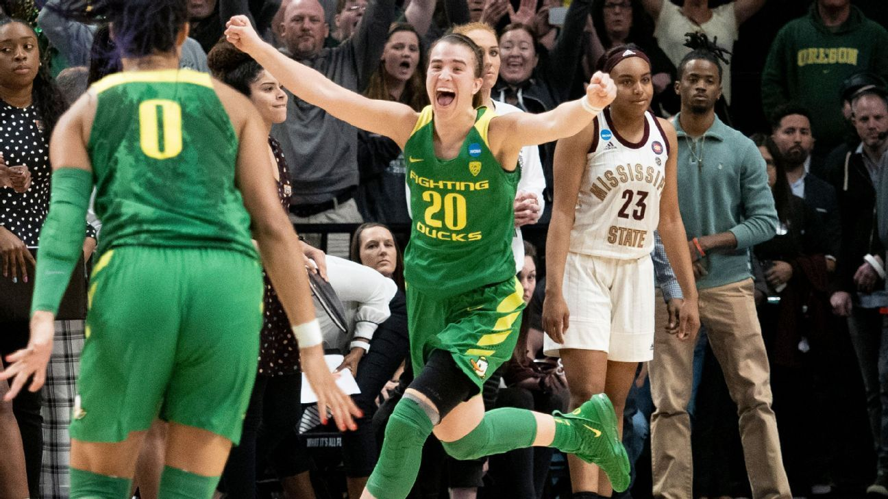 Sabrina Ionescu and Oregon open at No. 1 in espnW's preseason Top 25