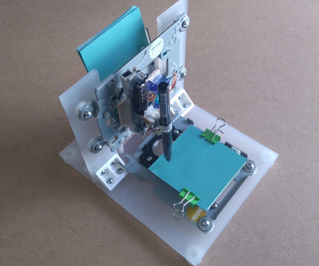 Arduino Mini CNC Plotter Machine From Dvd Drives   Pinterest ...