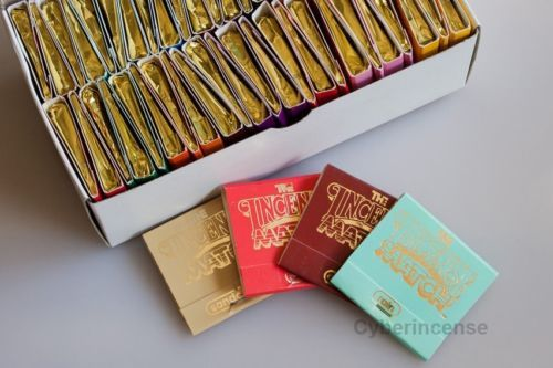 Incense 43405: 50 Incense Match Books - Assorted Variety Scented Matches - Box Of 50 -> BUY IT NOW ONLY: $46.99 on eBay!