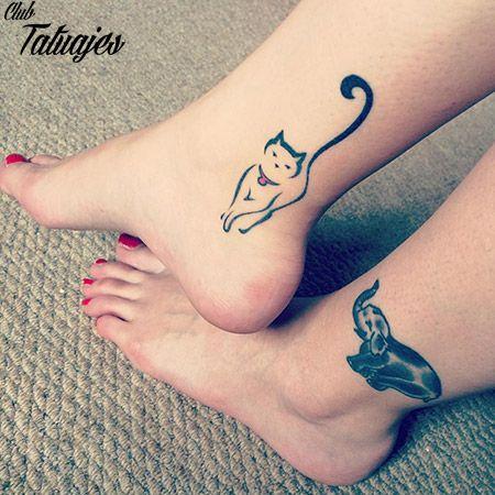 Resultado De Imagen De Tatuajes De Gatos Pequeños Para Mujeres