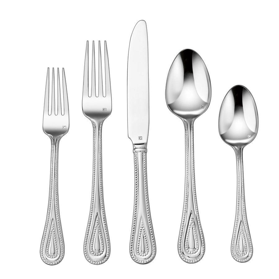 Cuisinart Stainless Steel Flatware Set Cfe 01 Fp20 In 2020 Flatware Set Stainless Steel Flatware Flatware