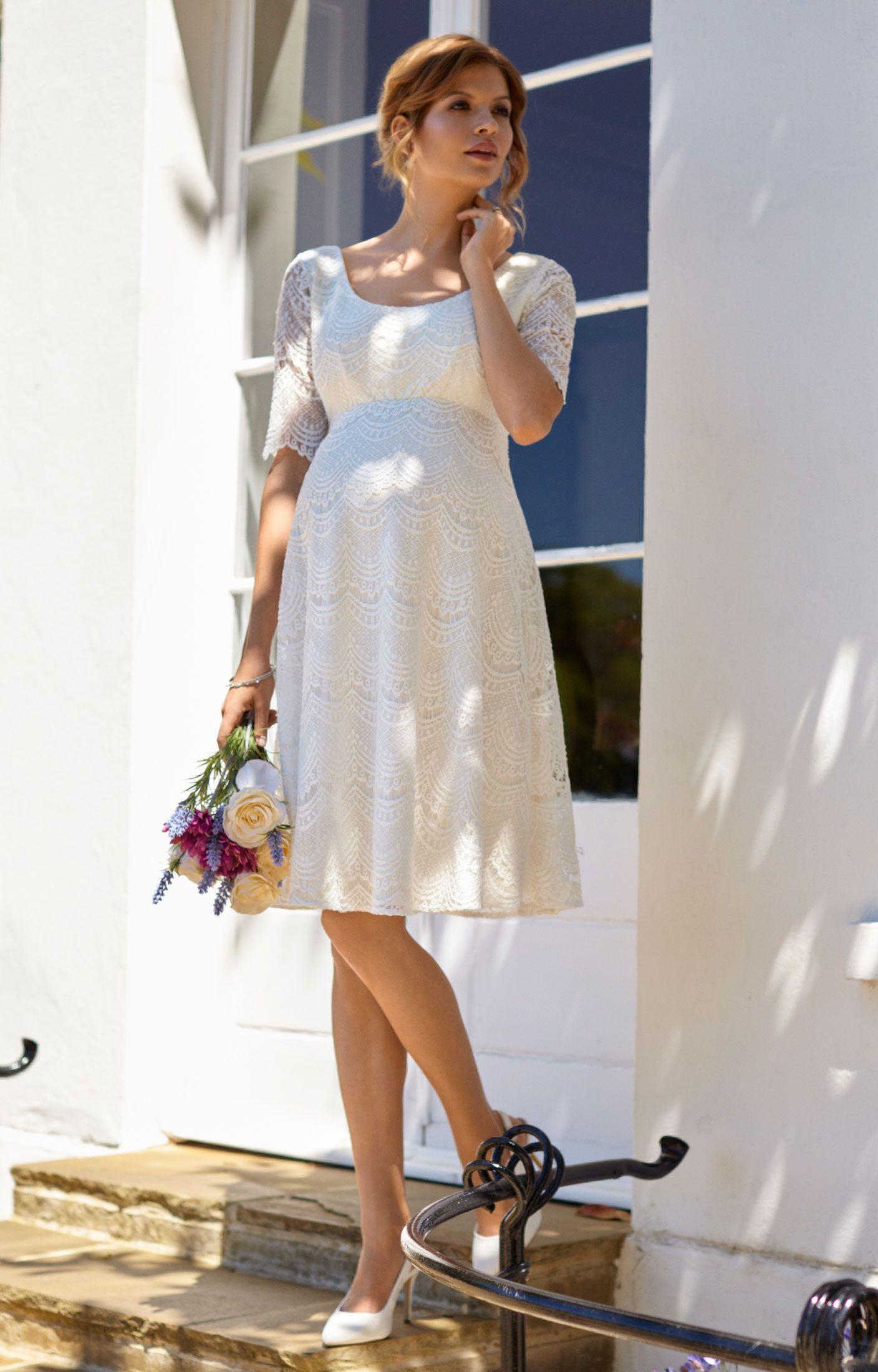 Verona Dress Short   Tiffany rose, Ivory and Wedding dress