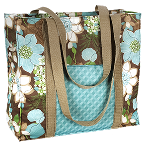Wildflowers Free tote pattern from fabric Editions, Inc ...