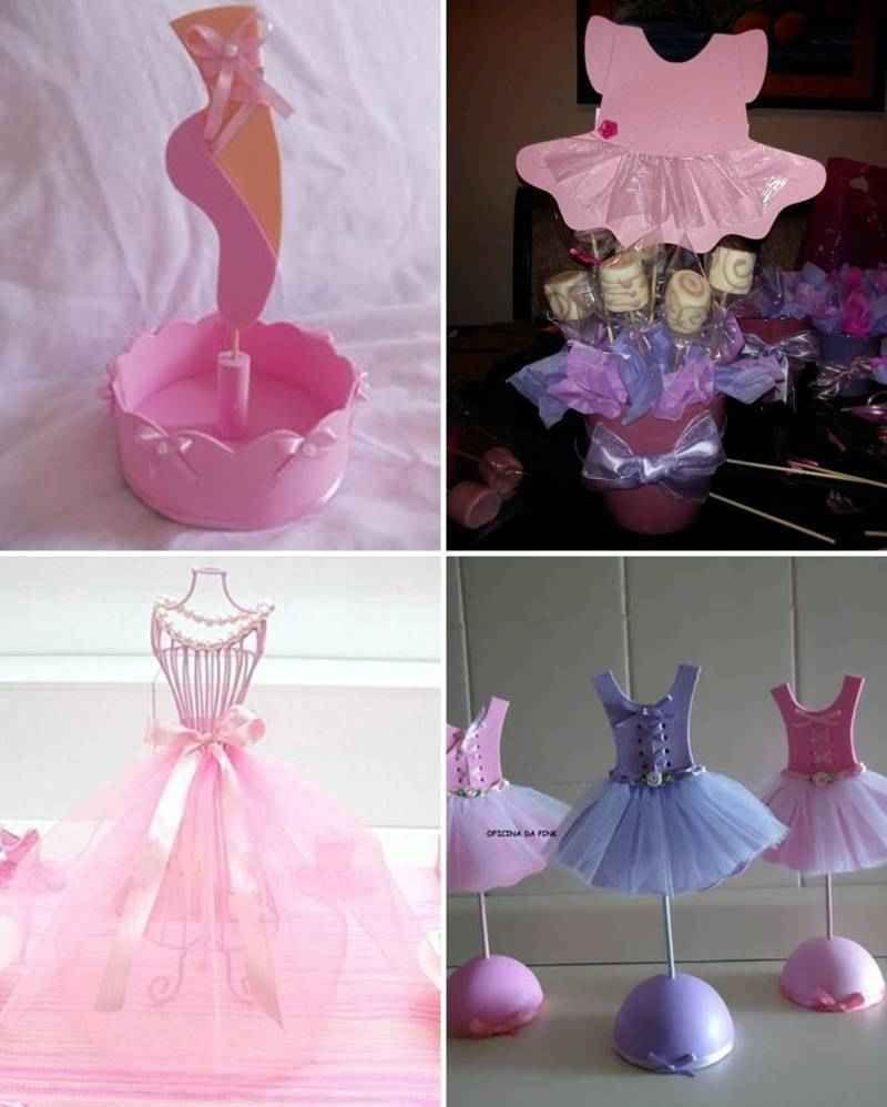 centros de mesa con bailarinas 3 tile mariana ballerina party centerpieces y cake pops. Black Bedroom Furniture Sets. Home Design Ideas