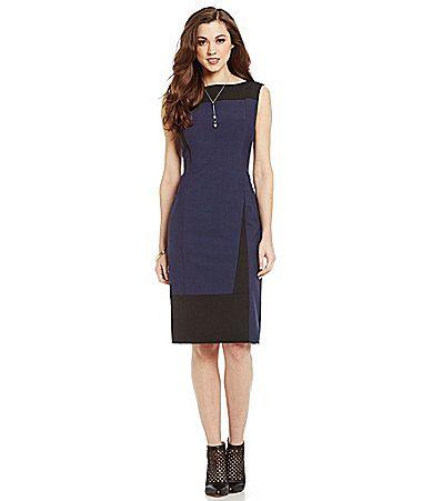a4303237e41 Antonio Melani Adalyn Colorblock BiStretch Sheath Dress