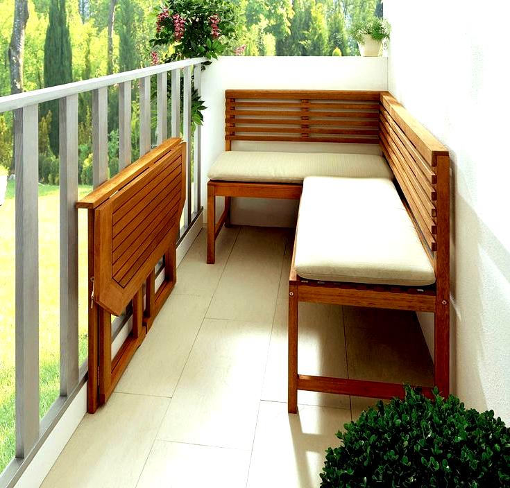 Balkonmöbel Kleiner Balkon 2021