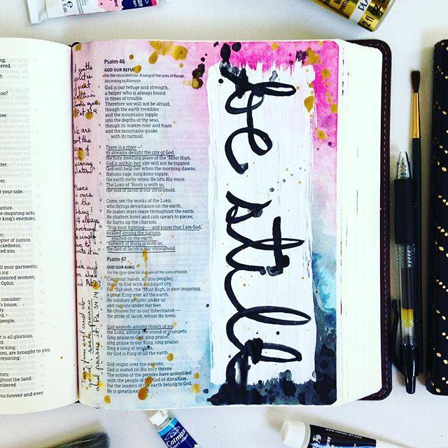 Psalm 46 Hannah Pickering @hannahpickering Instagram photos   Websta