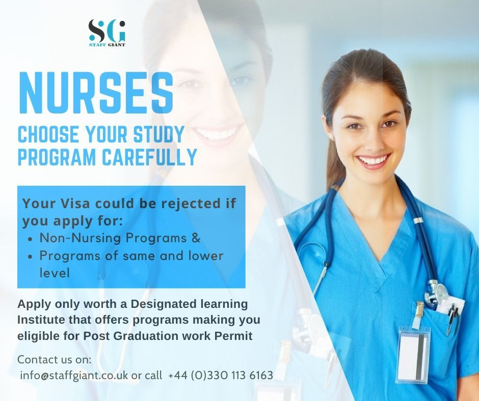 Nurses Choose your to study program carefully You can