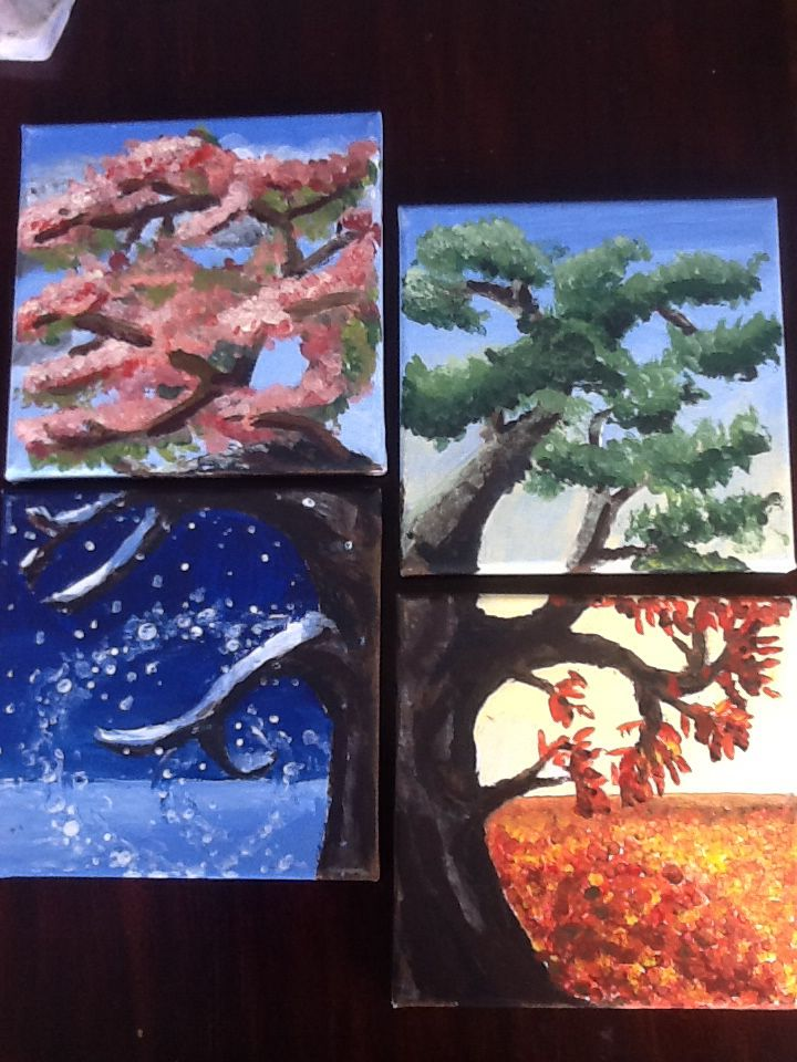 Canvas acrylic painting 4 piece easy do it yourself projects to try canvas acrylic painting 4 piece easy do it yourself projects to try at home solutioingenieria Image collections