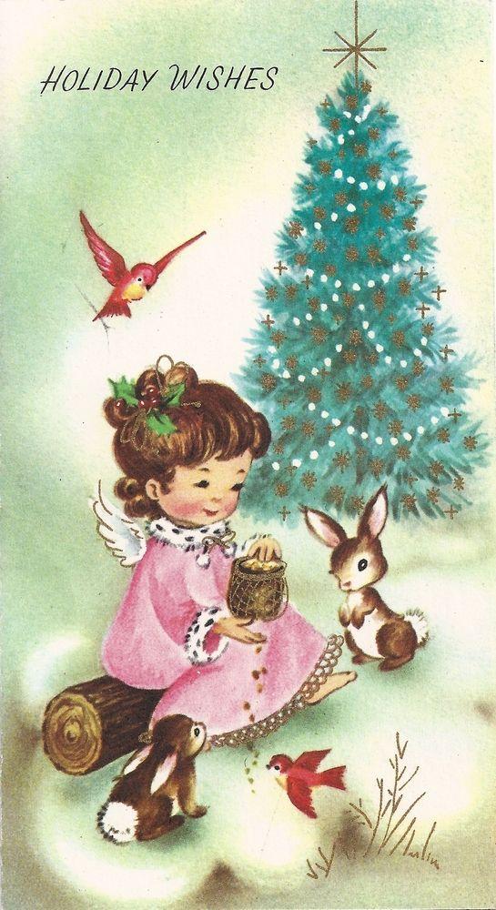 christmas card clip art | ... : Free Vintage Christmas Card Clip ...