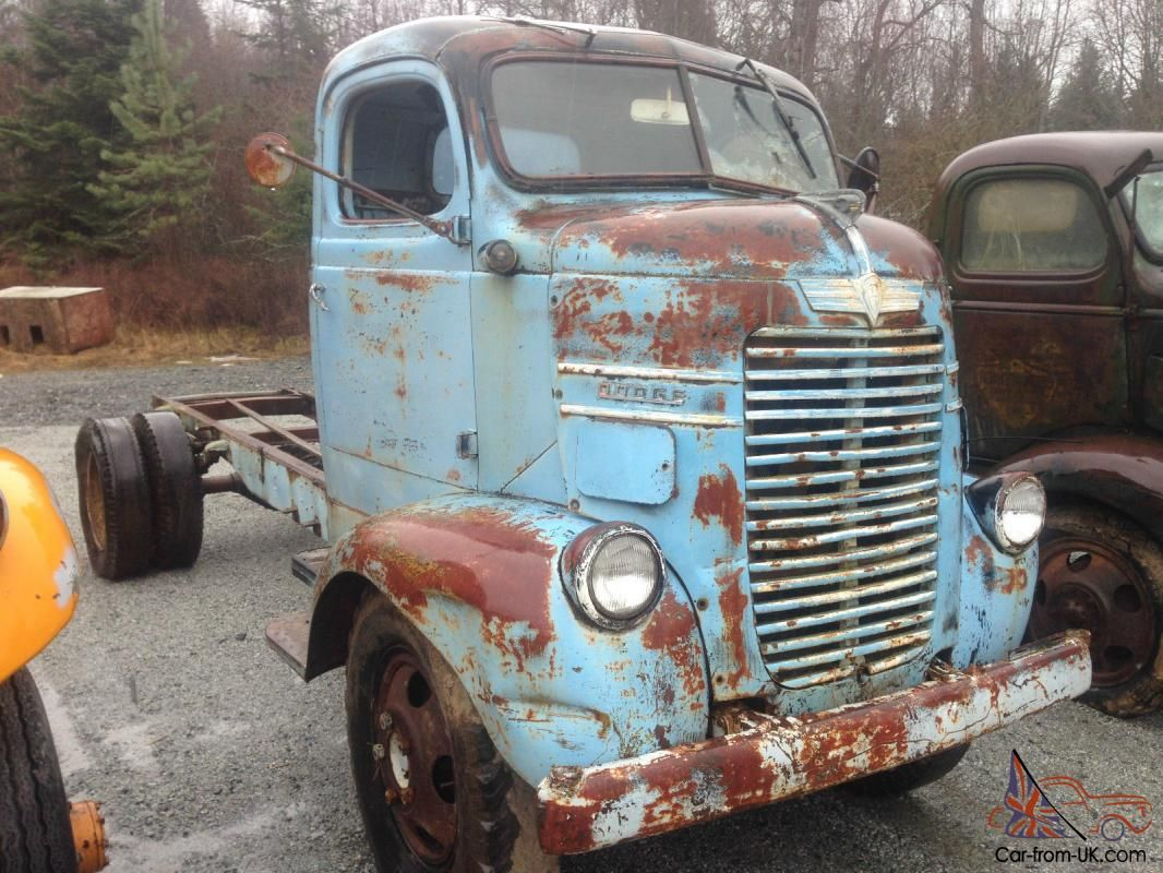 1943 dodge coe cabover cab