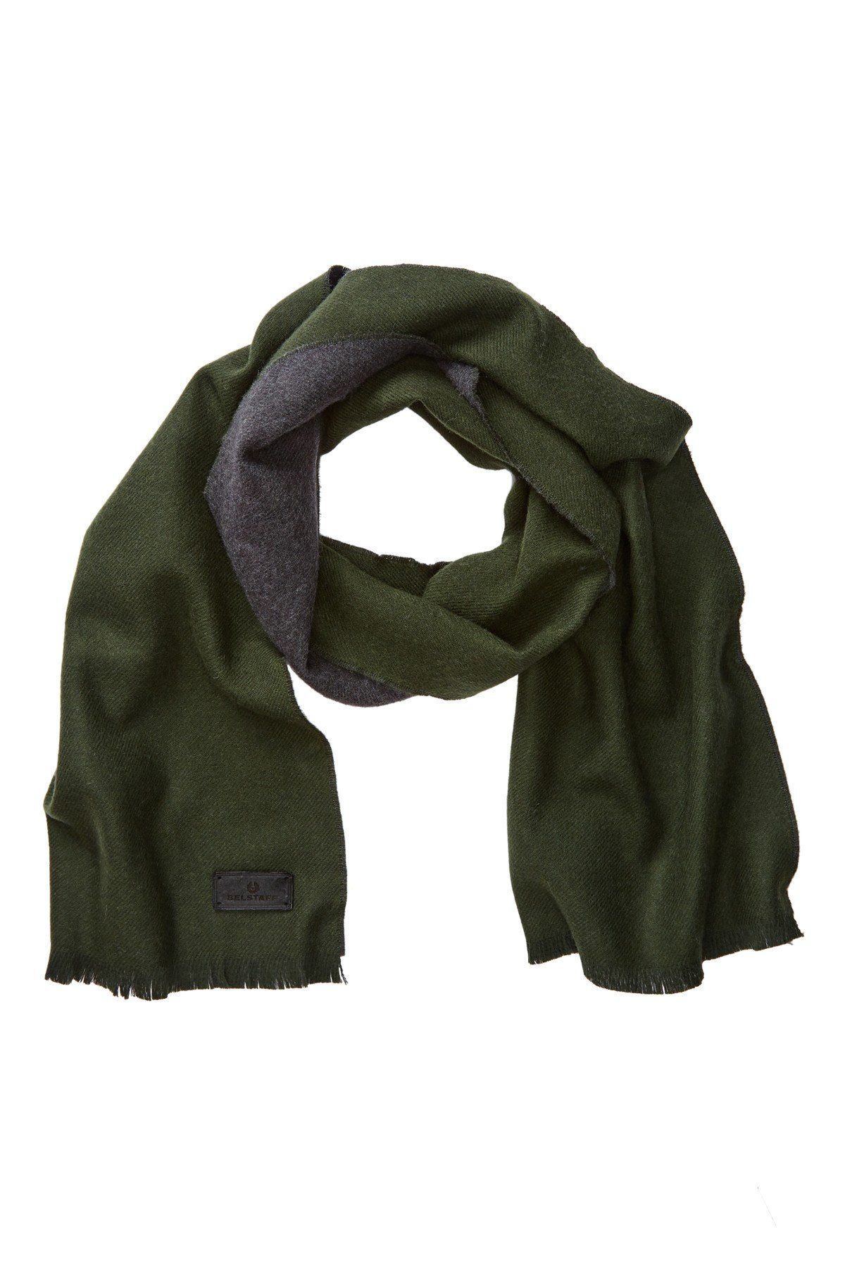 75241d66b69 Signature Solid Double Face Wool Scarf Belstaff, Wool Scarf, Merino Wool,  Men's Fashion