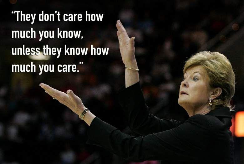 Pat Summitt Quotes Pat Summitt Quotes: Inspirational Words by UT Head Coach | Heavy  Pat Summitt Quotes