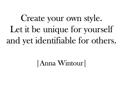 1000+ images about Style Quotes on Pinterest