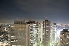 Skyline Tokyo 3 #tokyo #skyline #city #big #bynight #tapeterie lights #leben #wohnen #tapeten #inneneinrichtung #architektur #innenarchitektur #Kunst #Gestaltung #Malerei #Wandgestaltung #wand