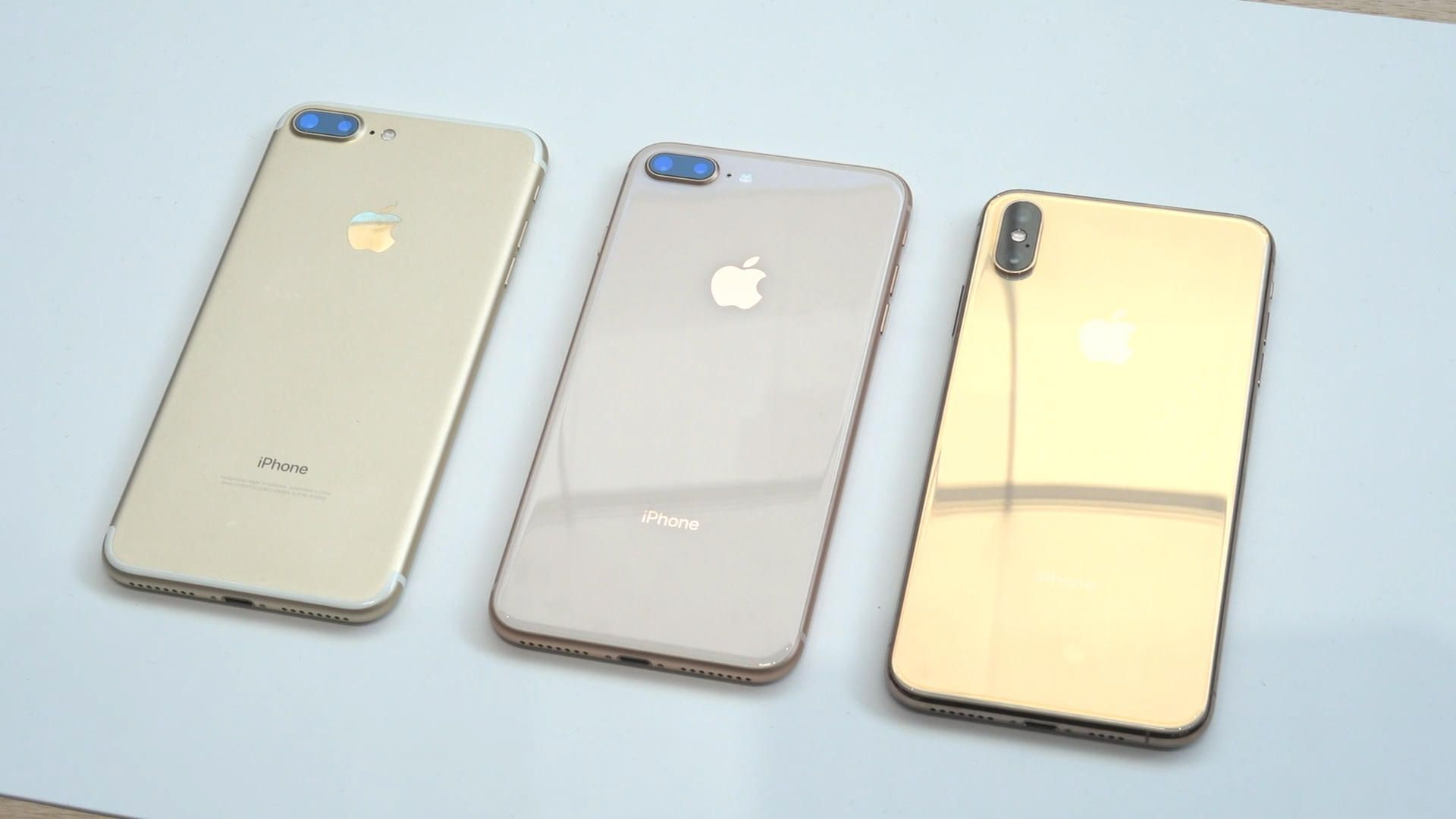 Gold Iphone Xs Max Vs Other Gold Iphones Gold Iphone Iphone Iphone 6 S Plus