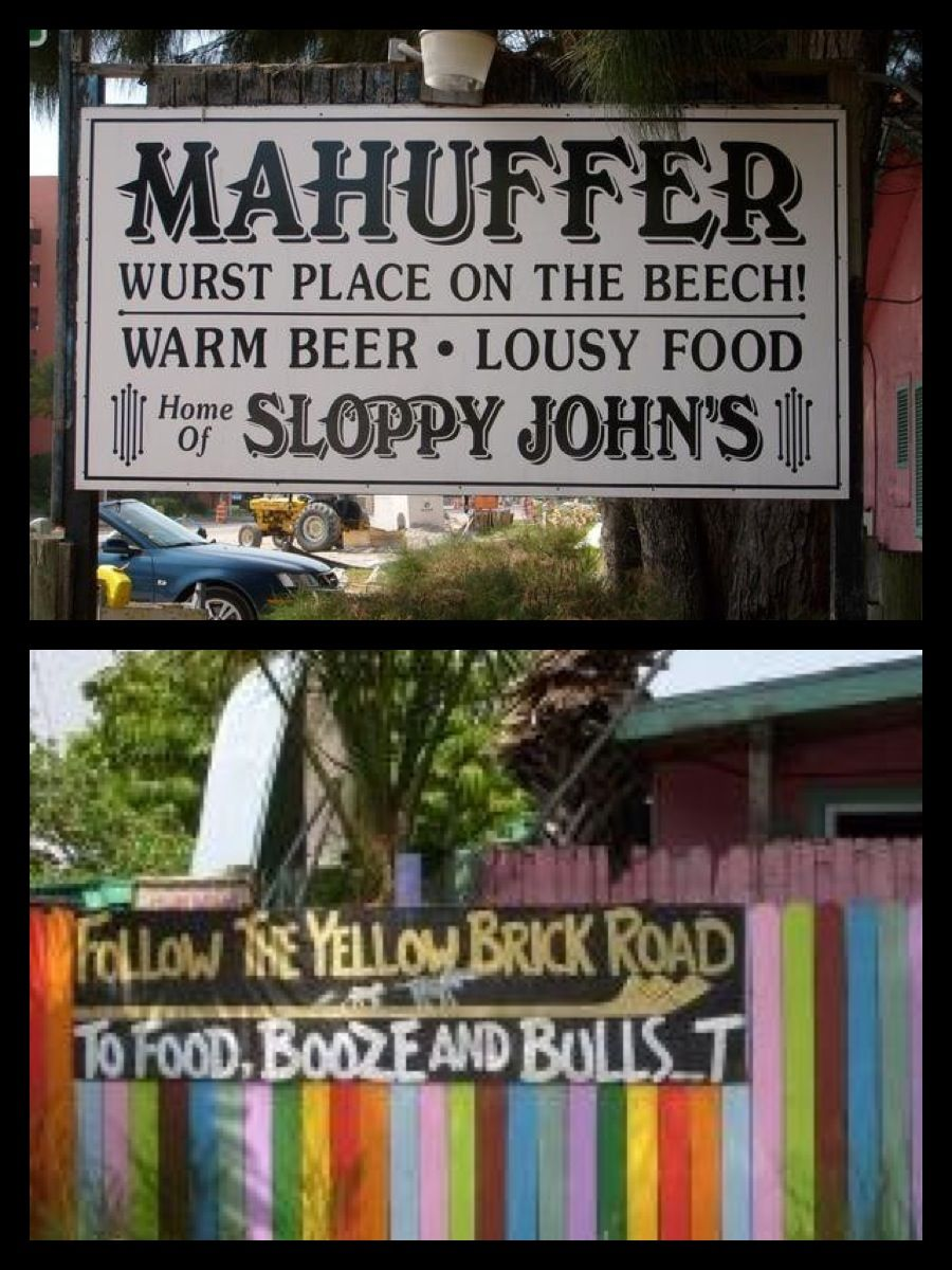 Mahuffers bar in Florida | Best Vacay's | Pinterest ...