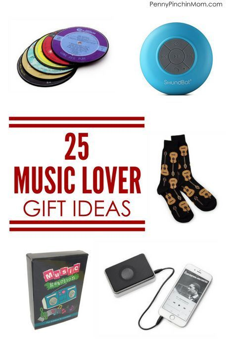 Unique And Different Music Lover Gift Ideas Christmas