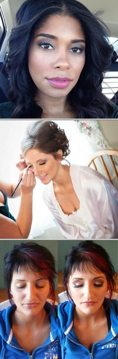 Hire this freelance makeup artist and licensed cosmetologist if you need profess..., #Artist...