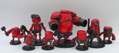 Red Robots! - Space Cow Smith