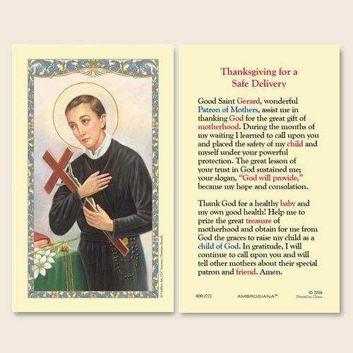 patron saint of childrens health