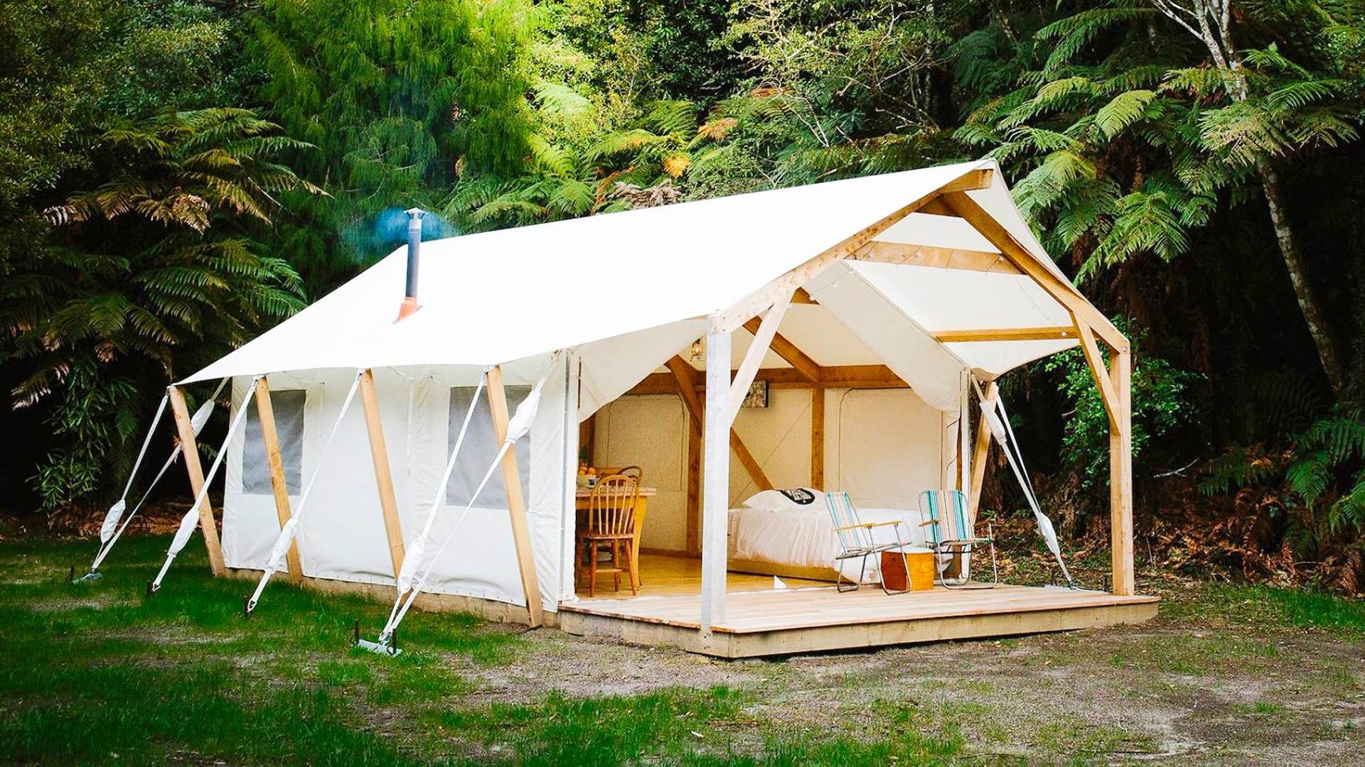 Glamping Tents By Baytex Glamping Tent Showroom Travel