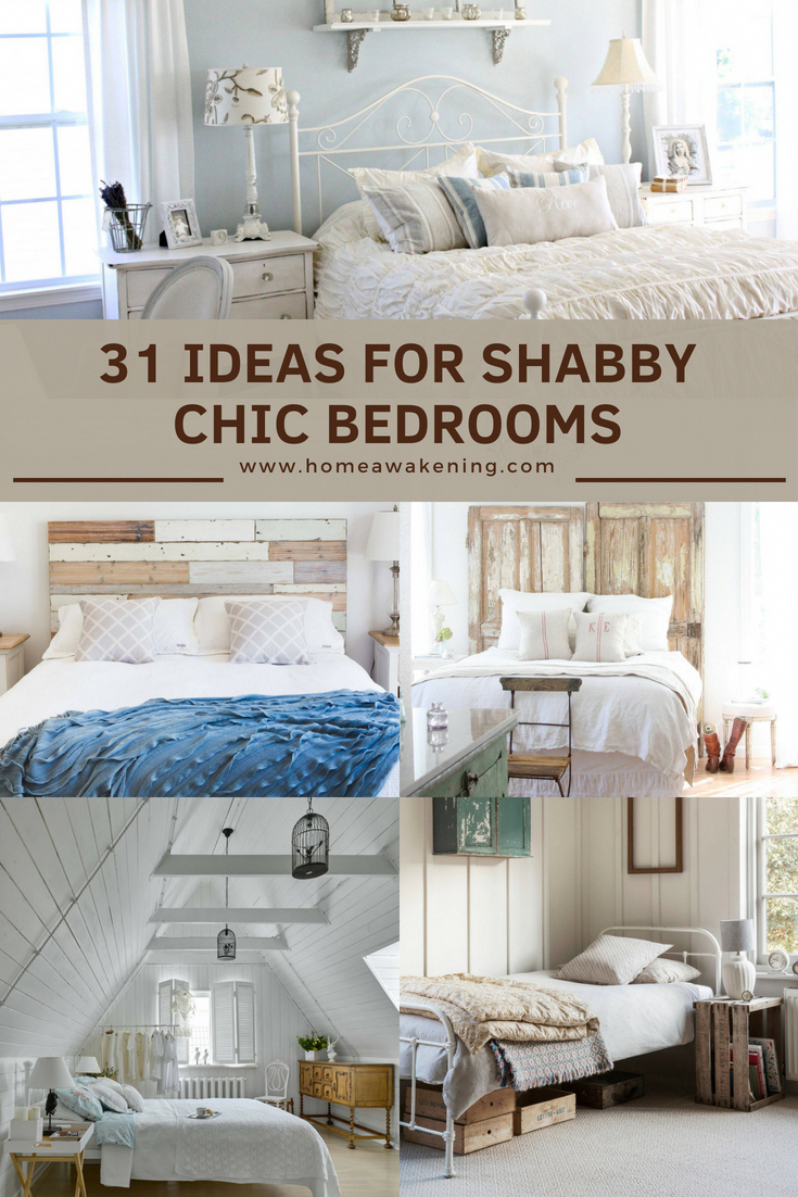 31 Shabby Chic Bedroom Designs And Ideas Home Awakening Shabby Chic Bedroom Inspiration Chic Bedroom Design Small Bedroom Inspiration