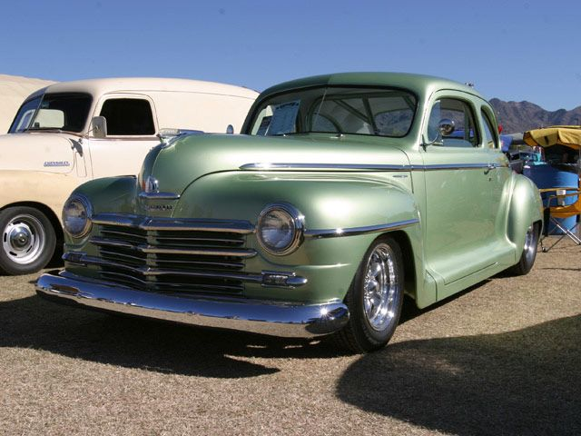 1948 Plymouth Sedan 1948 Plymouth Coupe Plymouth Clors
