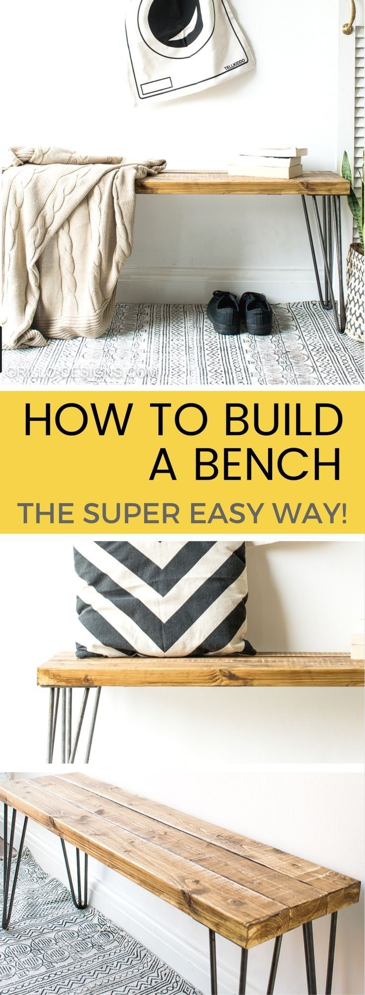 How to make furniture yourself